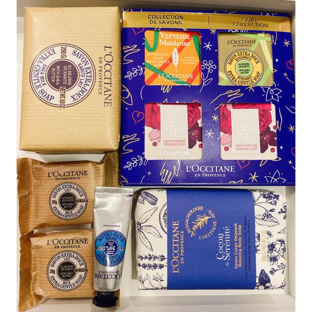 L'OCCITANE(ロクシタン)のロクシタン 石鹸 セット コスメ/美容のボディケア(ボディソープ/石鹸)の商品写真