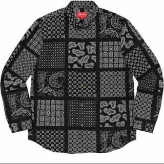 シュプリーム(Supreme)のSupreme Paisley Grid Shirt(シャツ)
