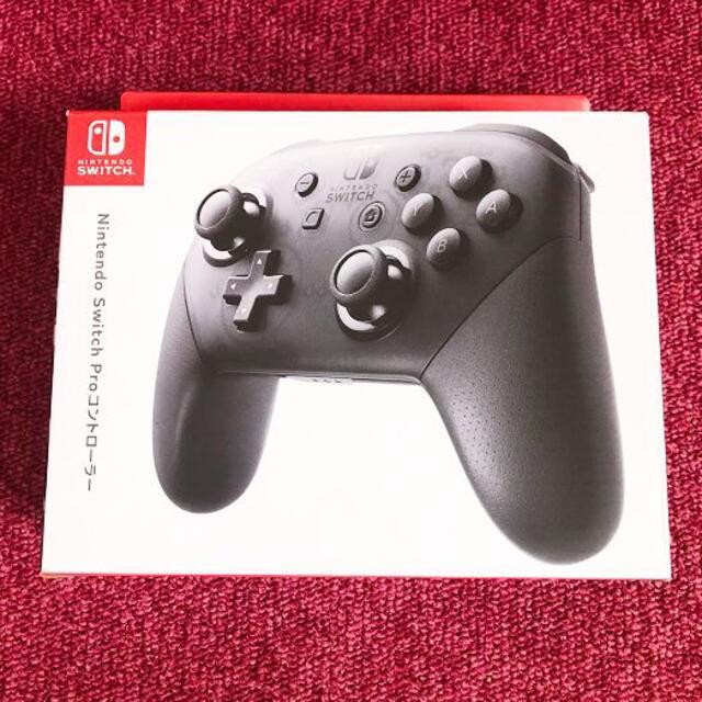 Nintendo Switch(ニンテンドースイッチ)のNintendo Switch Pro コントローラー プロコン エンタメ/ホビーのゲームソフト/ゲーム機本体(その他)の商品写真