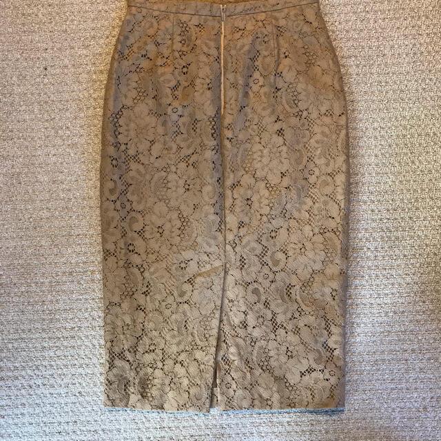 Max Mara(マックスマーラ)の断捨離中!安値!マックスマーラ☆キャメルレースタイトスカート レディースのスカート(ひざ丈スカート)の商品写真