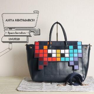 ANYA HINDMARCH - 未使用 アニヤ ハインドマーチ インベーダー 2WAY ショルダー バッグ