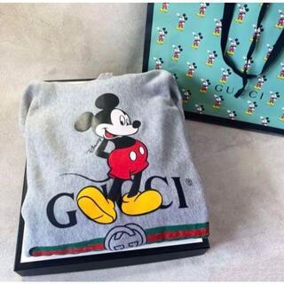 Gucci - 正規品 美品 GUCCI グッチ イタリア製 コラボ ミッキーマウス パーカー