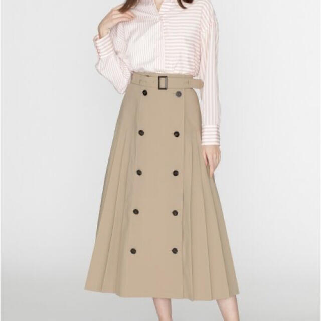 GRACE CONTINENTAL(グレースコンチネンタル)のトレンチスカート レディースのスカート(ロングスカート)の商品写真