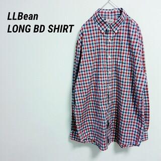エルエルビーン(L.L.Bean)の美品 未使用 LLBean エルエルビーン 長袖シャツ チェック柄(シャツ)