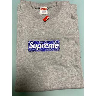 Supreme - シュプリーム バンダナボックスロゴTシャツ L