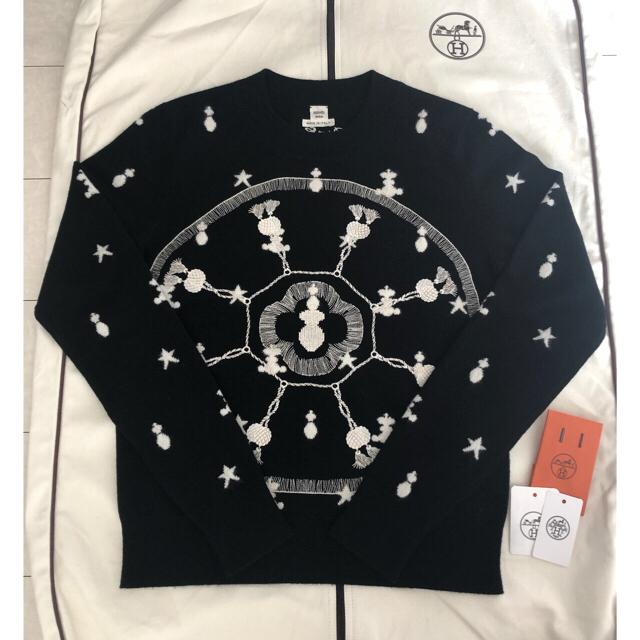 Hermes(エルメス)のHERMES エルメス サーベル飾袋 ニット 38サイズ レディースのトップス(ニット/セーター)の商品写真