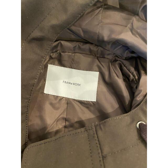 FRAMeWORK(フレームワーク)のフレームワーク C/PEフードミドル レディースのジャケット/アウター(ブルゾン)の商品写真