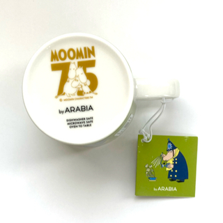 ARABIA アラビア ムーミン 署長さん マグカップ マグ 75周年
