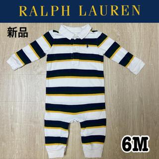 Ralph Lauren - 新品 春物 ラルフローレン ラグビー ロンパース