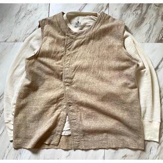 Engineered Garments - vintage アンティーク 40s 50s ユーロワーク ベスト ジャケット