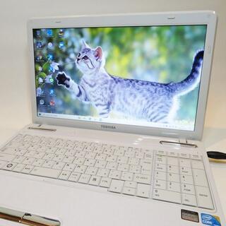 東芝 -  【ホワイト美品】dynabook/ノートパソコン/大容量/すぐに使える