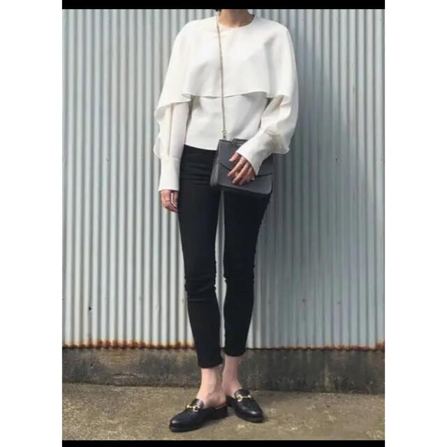 LE CIEL BLEU(ルシェルブルー)の新垣結衣さん着用❗️ ルシェルブルー ケープ ブラウス レディースのトップス(シャツ/ブラウス(長袖/七分))の商品写真