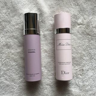 Dior - ミスディオール ボディスプレー  100ml シャネル チャンス ボディオイル