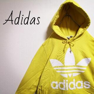 adidas - 希少カラー adidas ビッグロゴパーカー