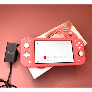 Nintendo Switch - 任天堂 Switch Lite 本体 コーラル