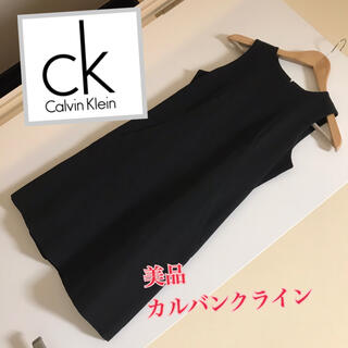 Calvin Klein - ALVIN KLEIN ノースリーブ ワンピース レディース