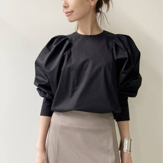 L'Appartement DEUXIEME CLASSE - L'Appartement◇Col Pierrot◇Gather Blouse