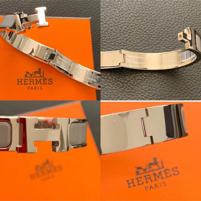 Hermes(エルメス)のエルメス ブレスレット《クリックH》PM           【未使用品】 レディースのアクセサリー(ブレスレット/バングル)の商品写真