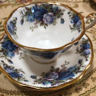 ロイヤルアルバート(ROYAL ALBERT)のROYAL ALBERT ロイヤルアルバート  ティーカップ2客 [新品](食器)