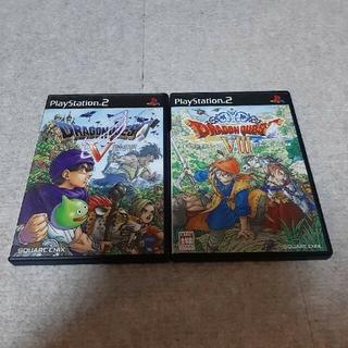 PlayStation2 - PS2ソフト ドラゴンクエストV&Ⅶ