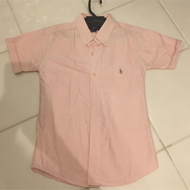 Ralph Lauren(ラルフローレン)のラルフローレン シャツ ピンク レディースのトップス(シャツ/ブラウス(半袖/袖なし))の商品写真