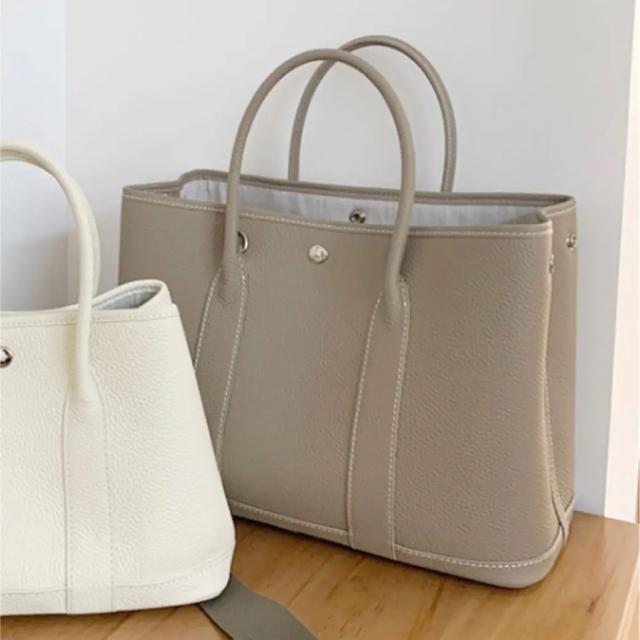 最高級 本革 トゴレザー使用 オールレザー  ハンドバッグ トートバッグ  レディースのバッグ(トートバッグ)の商品写真