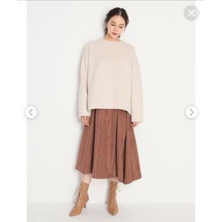 ミラオーウェン(Mila Owen)のMila Owen♡タックデザインフレアスカート(ロングスカート)
