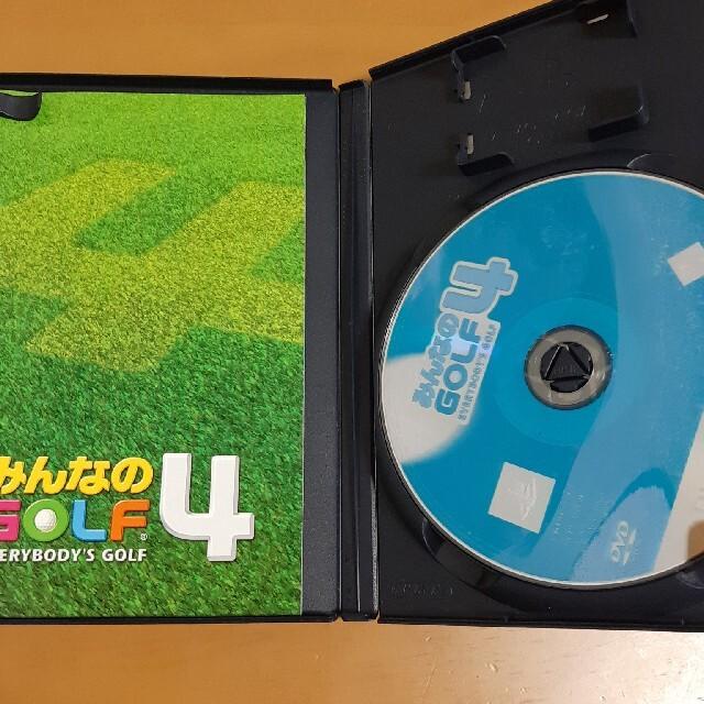 PlayStation2(プレイステーション2)のPS2 みんなのGOLF4 エンタメ/ホビーのゲームソフト/ゲーム機本体(家庭用ゲームソフト)の商品写真