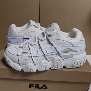 フィラ(FILA)の24cm FILA バリケード97 ホワイト 新品未使用スニーカー(スニーカー)