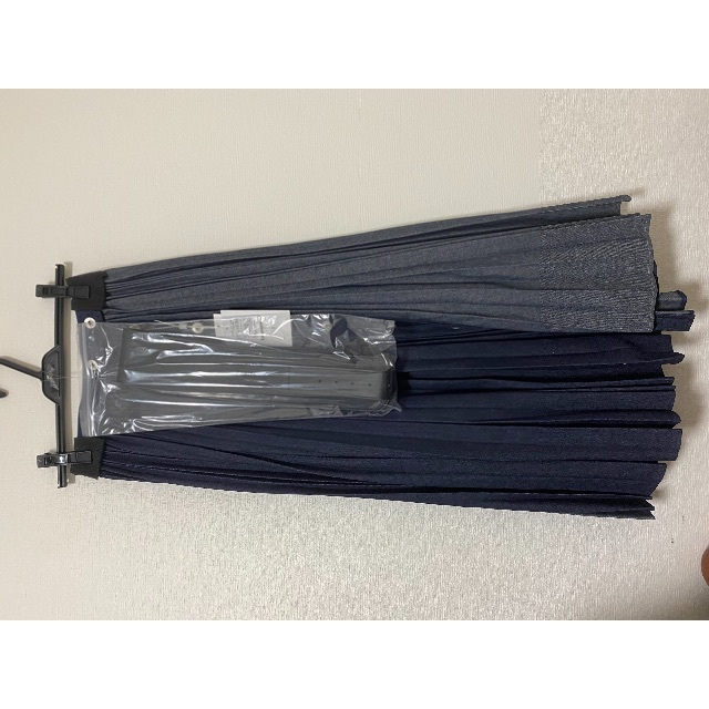 Ameri VINTAGE(アメリヴィンテージ)のameri vintage デニムプリーツスカート レディースのスカート(ロングスカート)の商品写真