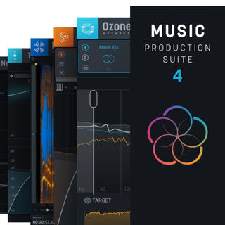 iZotope Music Production Suite 4(ソフトウェアプラグイン)