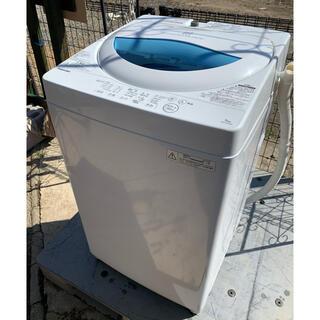 東芝 - TOSHIBA 2017年製 全自動洗濯機 風乾燥機能付 5キロ