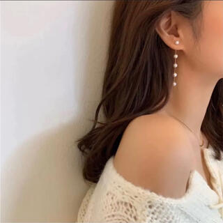 ピアス パール 真珠 結婚式 韓国 冠婚葬祭 パーティー 二次会 おしゃれ