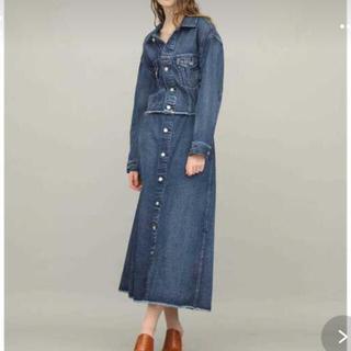 Ameri VINTAGE - デニムジャケット、ロングスカート セット⭐︎
