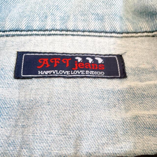AFRICATARO(アフリカタロウ)のアフリカタロウ デニムジャケット レディースのジャケット/アウター(Gジャン/デニムジャケット)の商品写真