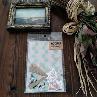 [ムーミン]シースルーラッピングバッグ スナフキン ミイ 北欧デザイン (カード/レター/ラッピング)