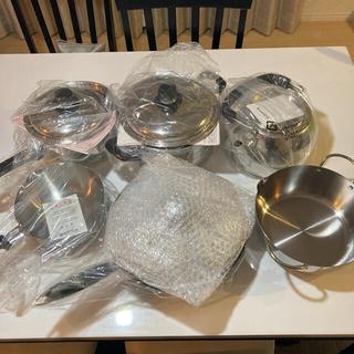 ミツビシ(三菱)の三菱IHクッキングヒーター用 三菱オリジナル鍋セット(鍋/フライパン)