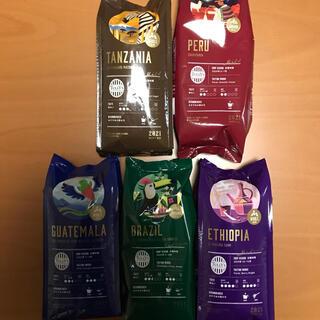 新品 タリーズ  福袋 コーヒー豆 コーヒー粉 5点セット