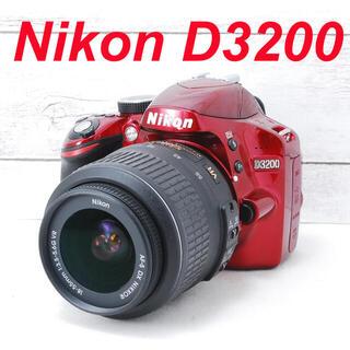 Nikon - ❤️人気レッドカラー❤️高画質❤️Nikon D3200