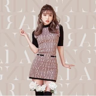 eimy istoire - 新品☆Darich☆DARLINGニットミニワンピ☆モカ