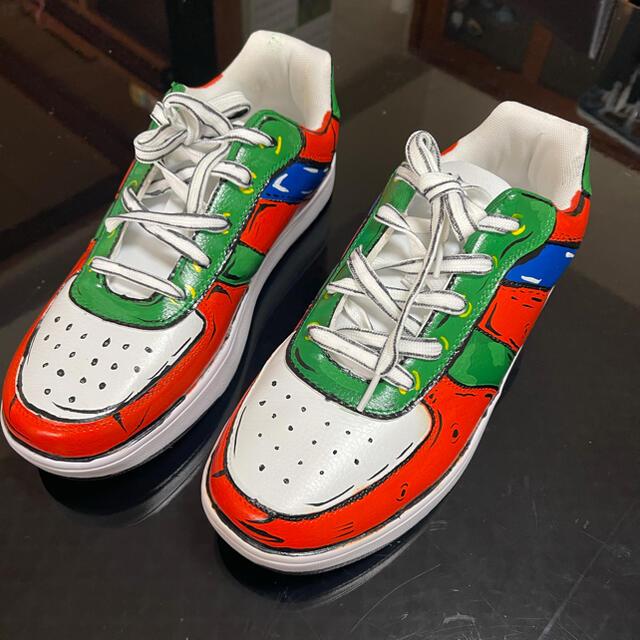 ★カスタムペイントスニーカー メンズの靴/シューズ(スニーカー)の商品写真
