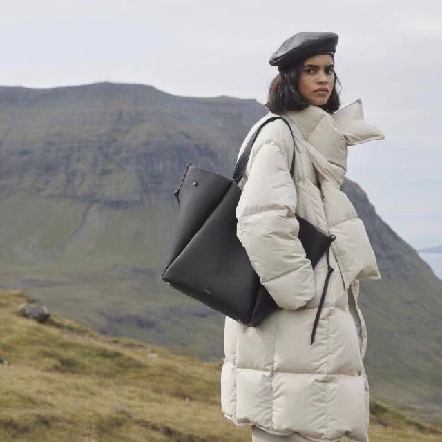 Drawer(ドゥロワー)のPolene ♡Le Cabas♡トープ レディースのバッグ(トートバッグ)の商品写真