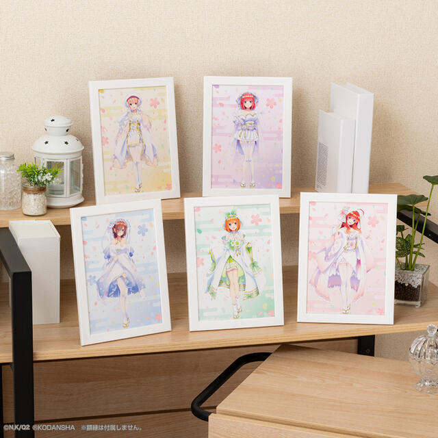 BANDAI(バンダイ)の五等分の花嫁 一番くじ エンタメ/ホビーのおもちゃ/ぬいぐるみ(キャラクターグッズ)の商品写真