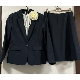 フォーマル スーツ 4点セット 卒業式 入学式 ネイビー  L
