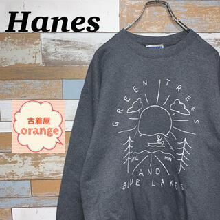 Hanes - 【Lサイズ】【90s】ヘインズ スウェット トレーナー トップス