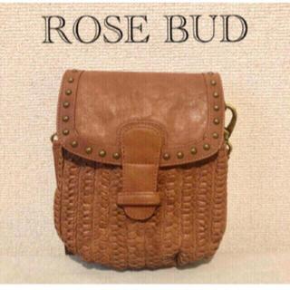 ROSE BUD - ローズバッド ❇︎ ショルダーバッグ