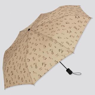 ユニクロ(UNIQLO)の【新品未使用】ピーナッツ × 長場雄 UVカット アンブレラ (傘)