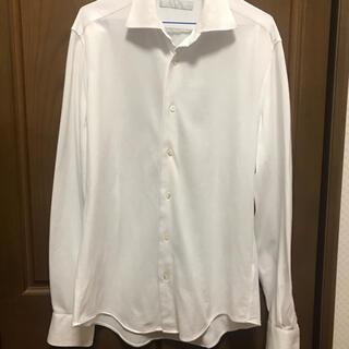 エストネーション(ESTNATION)のエストネーション ホワイトシャツ ストレッチ(シャツ)
