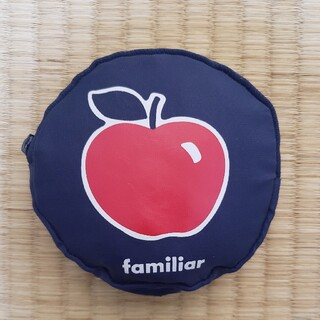 familiar - ファミリア エコバッグ りんご 池田銀行 ノベルティ レア