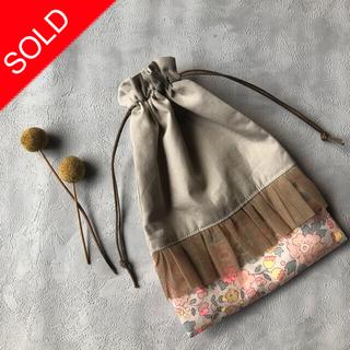 ボンポワン(Bonpoint)の【handmade】巾着袋SS(外出用品)